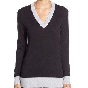 Michael Kors Navy V Neck Sweater Size Small